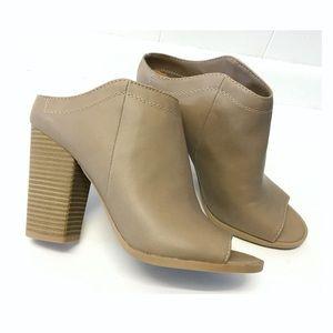 Dolce Vita | NWOT Peep-toe Booties Chunky Heel